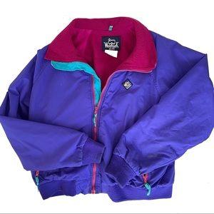 Vintage Woolrich Signet Gear Colorblock Jacket 90s